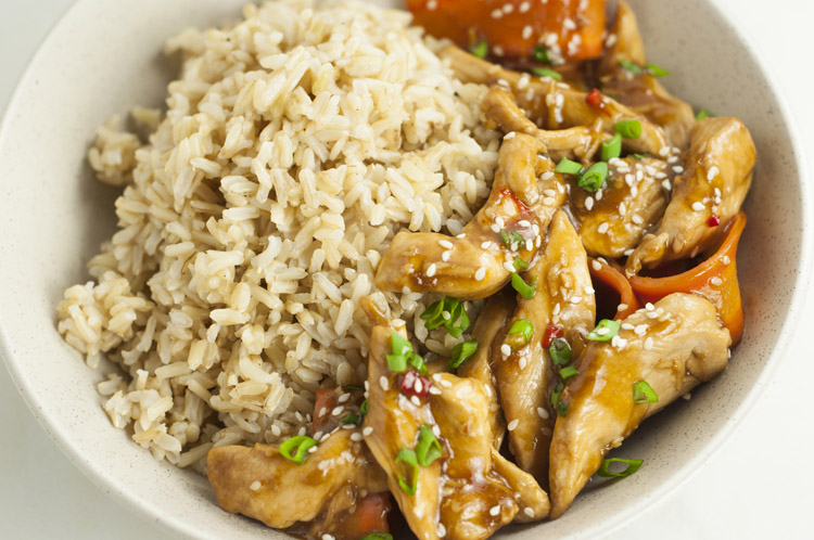 One-Pot Sesame Chicken