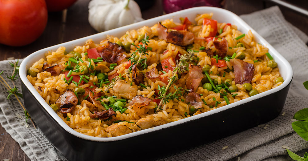 Spicy Rice Casserole