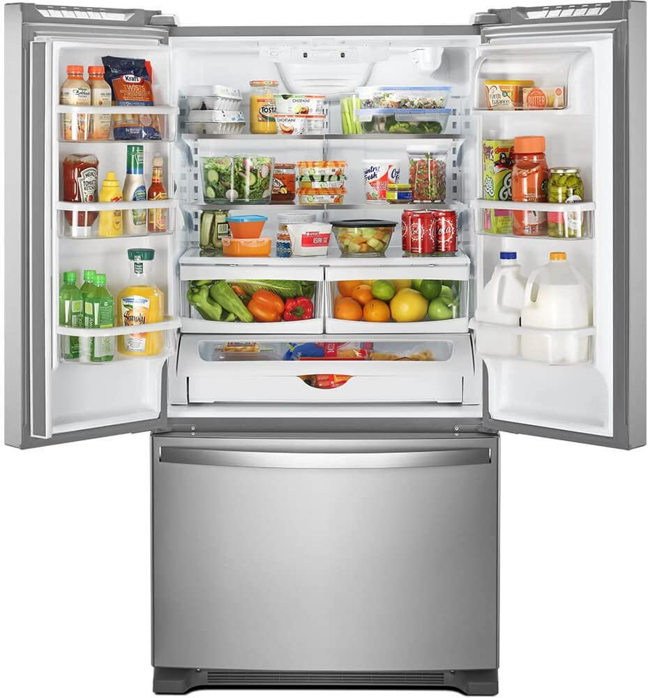 Whirlpool French Door Refrigerator with Water Dispenser