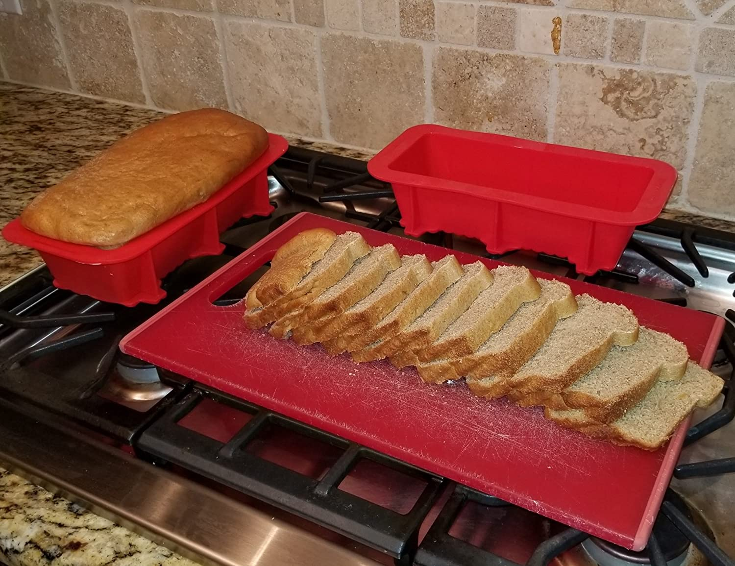 Silicone Designs Bread and Loaf Pan Set