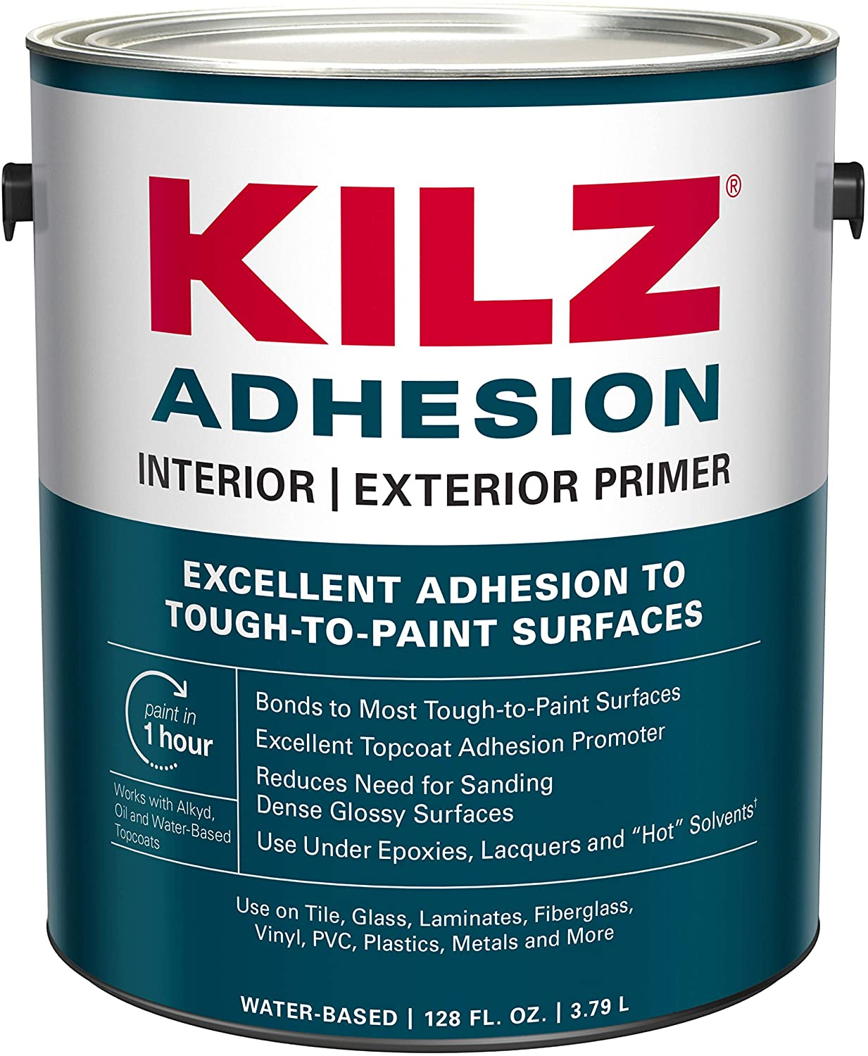 KILZ Adhesion High-Bonding Interior And Exterior Primer