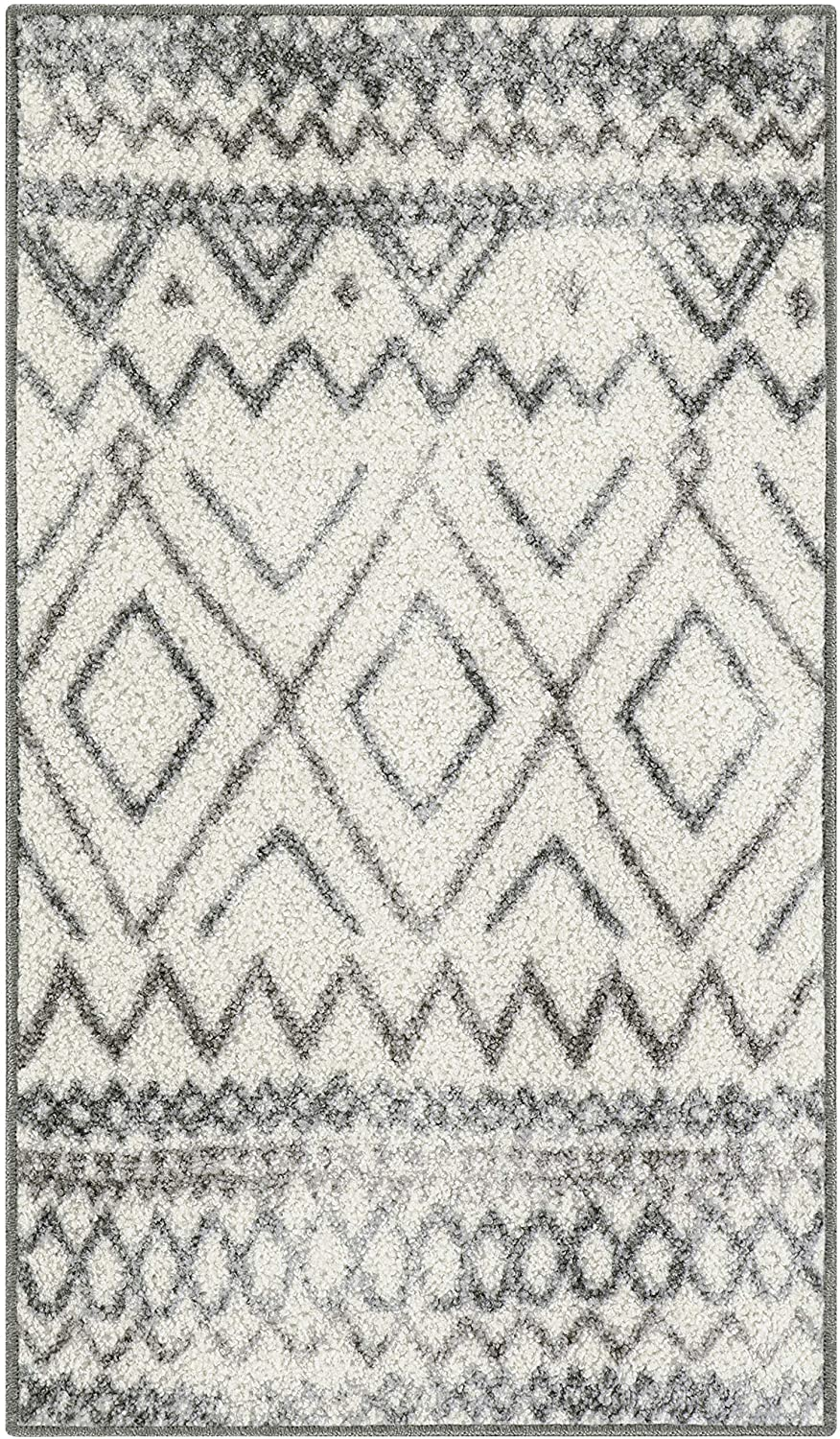 Maples Rugs Abstract Diamond Modern Distressed Kitchen Rugs