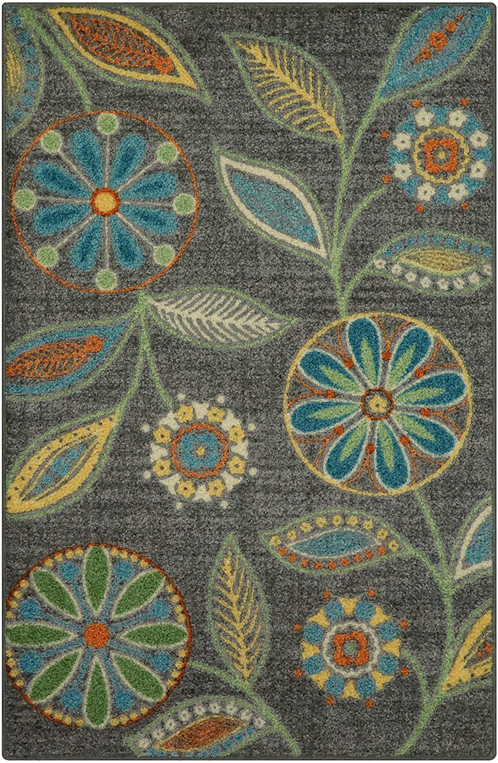 Maples Rugs Reggie Floral Kitchen Rugs