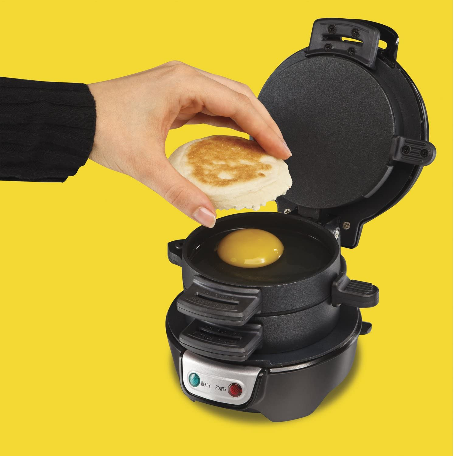 Electric Breakfast Sandwich Maker