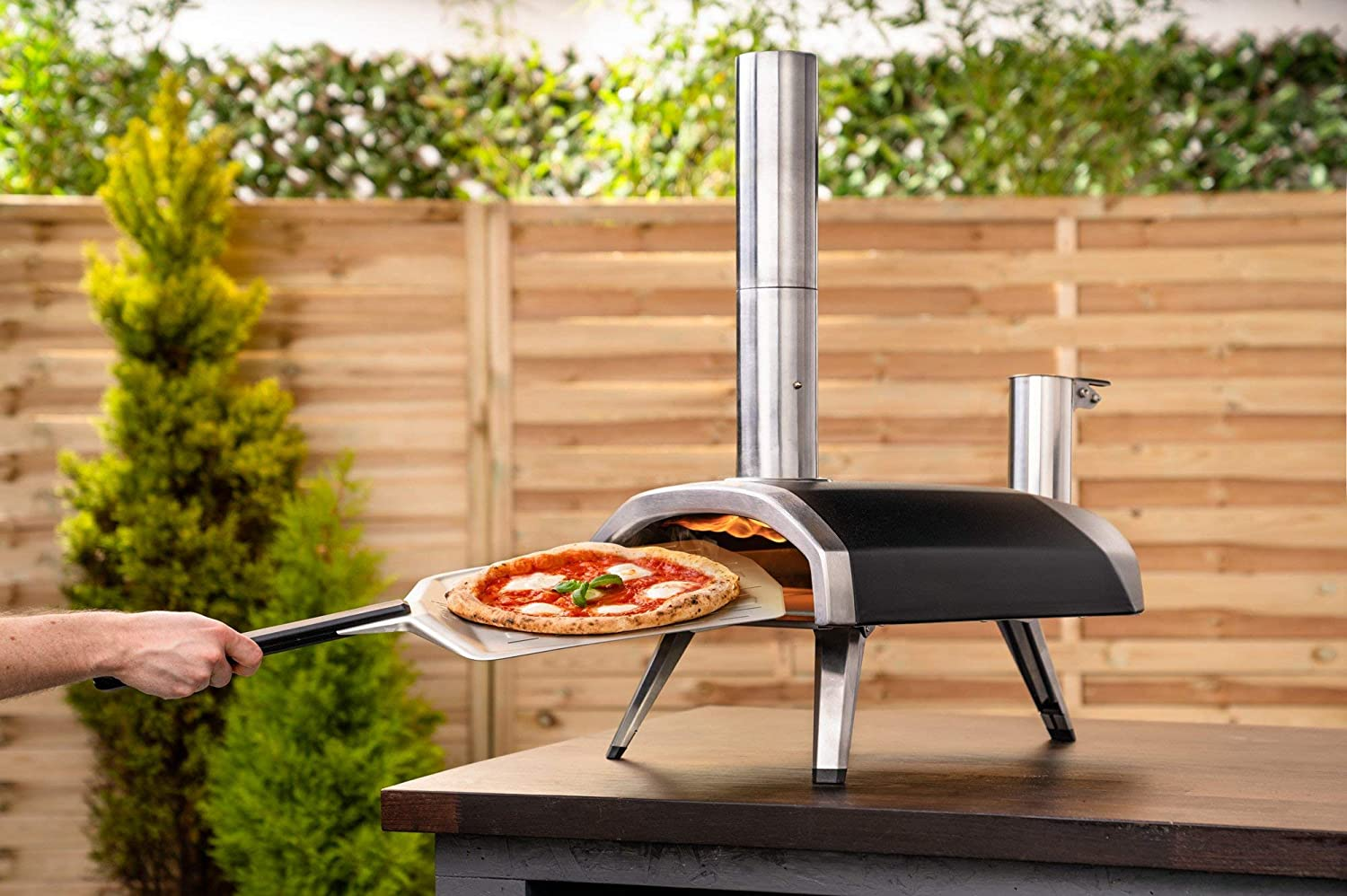Ooni Fyra 12 Wood Fired Outdoor Pizza Oven
