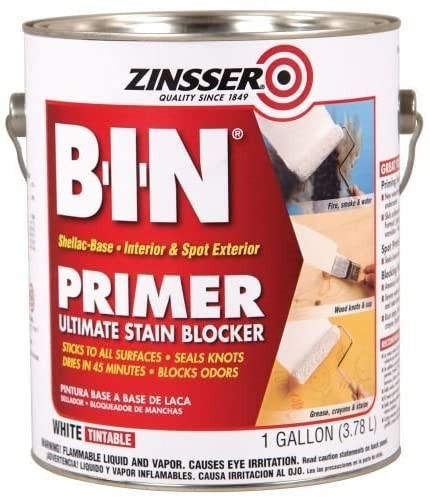 ZINSSER B.I.N Primer – Ultimate Stain Blocker