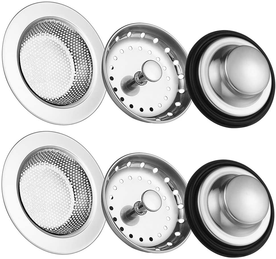 Carry360 Anti-Clogging Stainless Steel Sink Disposal Stopper