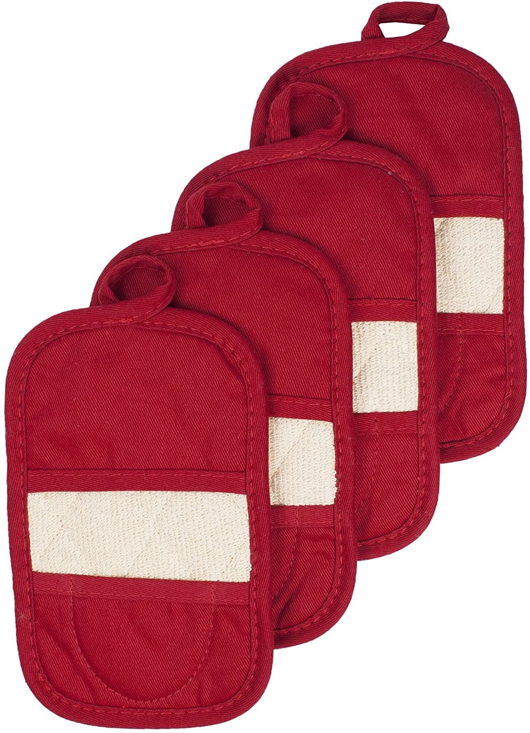Ritz Royale Collection Dual-Function Hot Pads and Pot Holders Terry Mitz Cotton