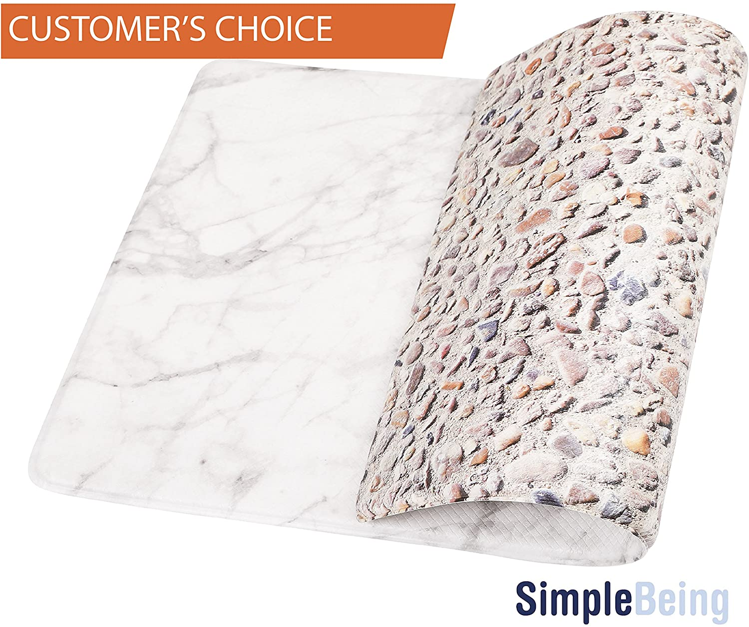 Anti-Fatigue Kitchen Mat By Simple Being